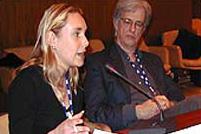 Gail hurely of european volunteer center